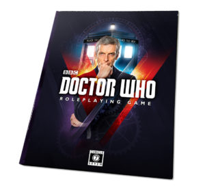 Cover art for the Doctor Who Roleplaying Game.